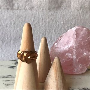 Abstract Copper Brass Ring